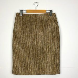 Vintage Debbie Shuchat tweed pencil skirt Sz 6